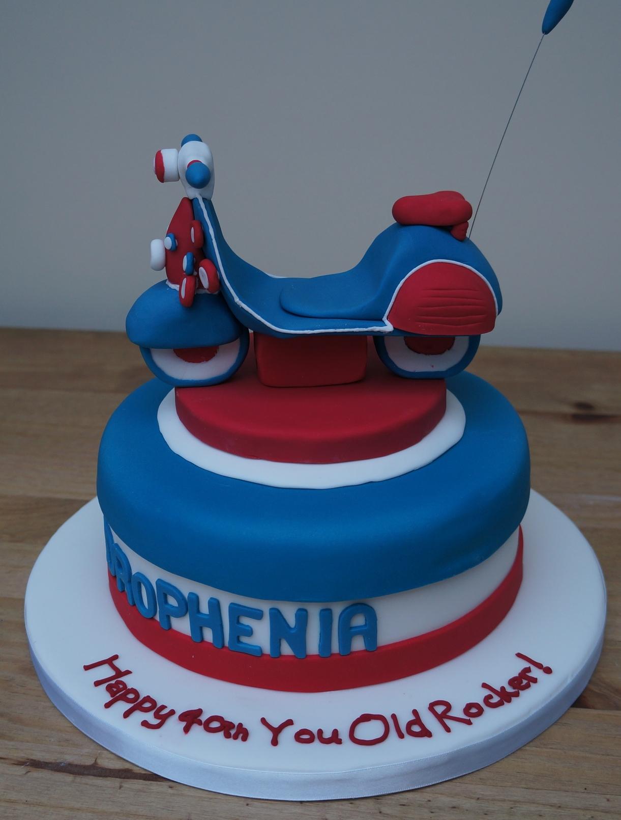 Vespa Quadrophenia Cake Coppice Cakes