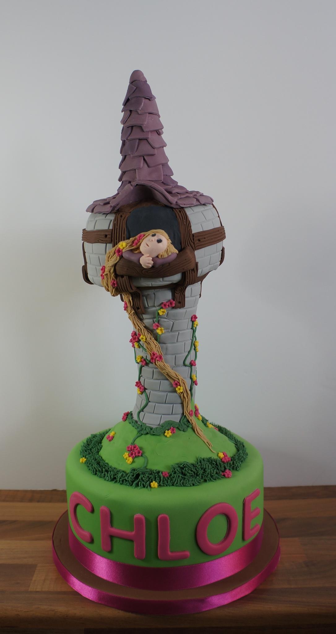 Cake Rapunzel Tower
